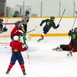He Scores!!! (Sr Elementary School Hockey Finals) by Lance G