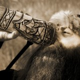 Thirsty Viking by Alison G
