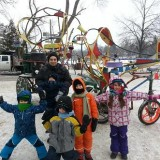Local Colour At The 2014 RH Winter Carnival by Jenna M