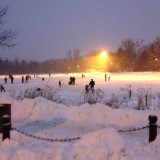 2015 Saturday Night Pond Skating