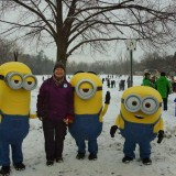 Our Chairperson And The Minions!