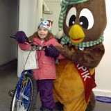 Adelie (Saturday Bike Draw Winner) and Ookpik!
