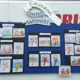 Colouring Contest Winners<br>For Grades 3 And Under