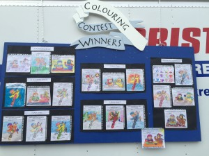 Colouring Contest Winners