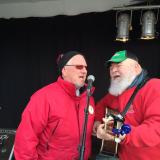 Mayor Dave Barrow With Lou Moore