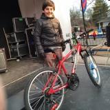 Saturday Night Bike Draw Winners brother
