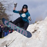 In Motion - Snowboarding by Elizabeth L