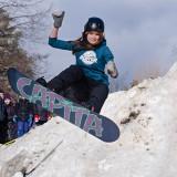 In Motion - Snowboarding by Elizabeth L